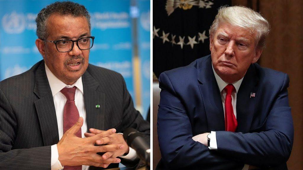 Tổng thống Mỹ Trump đổi lỗi cho WHO và Trung Quốc về những thất bại trong công tác phòng chống đại dịch Covid-19 toàn cầu   -    G-Saram