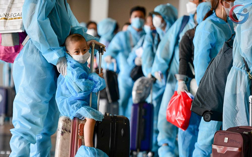 Chuyến bay thương mại quốc tế đầu tiên về Việt Nam sau nửa năm