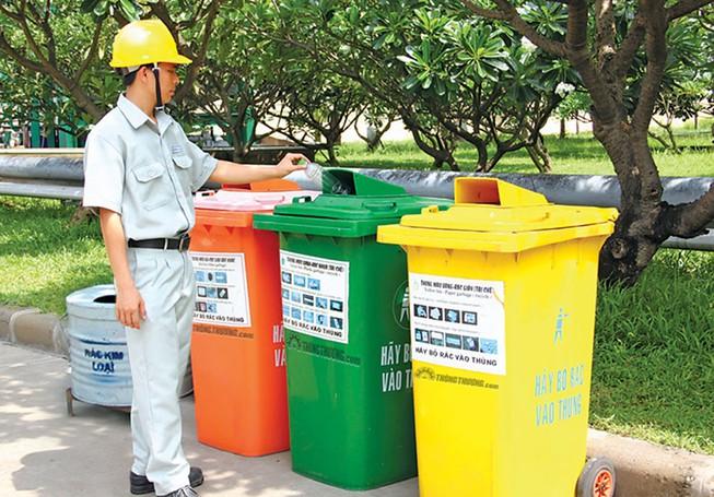 Thu phí rác thải tính theo khối lượng
